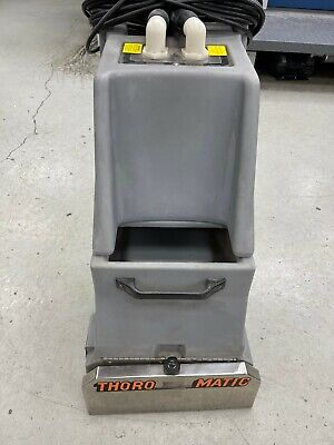 Thoro-matic Commercial Carpet Cleanerextractor Used Three Times Great Unit