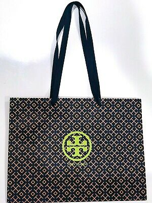 Tory Burch Paper Shopping Bag 16x12 Fits Large Shoebox