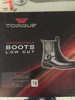 Motorcycle boots size 10 -BRAND NEW