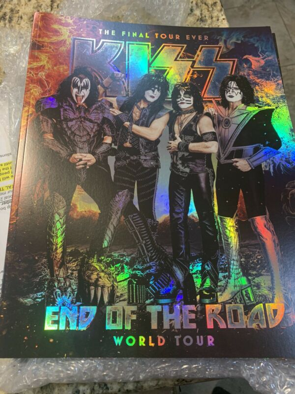 KISS 2020 End Of The Road Concert TOUR BOOK, PROGRAM,programme,tourbook,V5