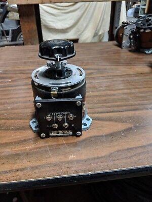 0-140v 1.4kva 120v Variac Autotransformer Voltage Regulator Powerstat 116bu