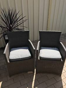 Patio by Jamie Durie Outdoor Woven Wicker Rattan Armchairs Beverley Charles Sturt Area Preview