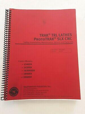 Southwestern Prototrak Trl Slx Safety Install Service And Parts List Manual