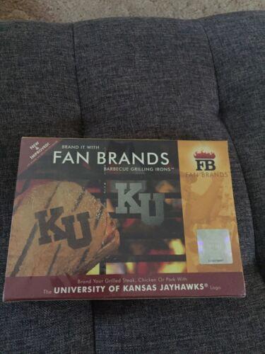 KU Kansas Jayhawks Unopened Fan Brands Barbecue Grilling Iro