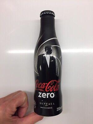 Collectors Item - Aluminium Bottle Coca Cola Zero Skyfall 007 - Unused