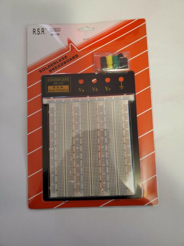 Solderless Breadboard Protoboard MB-106, R.S.R Electronics