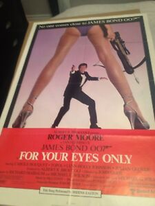 Original James Bond Movie Posters
