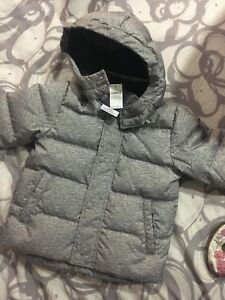 Toddler winter coat.  Down.  Size 2 years