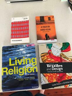 Year 11 Textbooks - English, Textiles and Religion