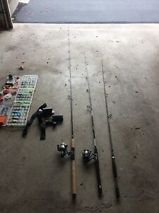 Fishing , chest waiters , lures  , tackle
