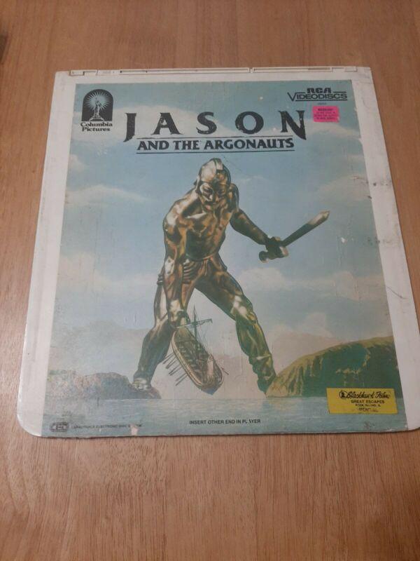 Jason And The Argonauts RCA Videodisc Vintage CED Format
