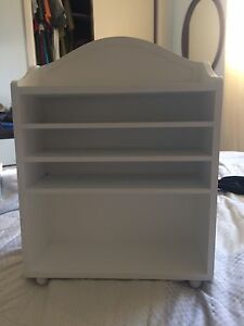 "18"" doll shelving unit"