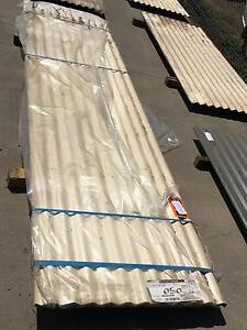 Corrugated Iron Colourbond Sheets – Classic Cream Point Cook Wyndham Area Preview