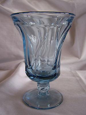 Fostoria Jamestown Light Blue Iced Tea Goblet/Footed Tumbler(s) Light Blue Iced Tea