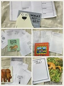 Picture books with mentor writing tasks