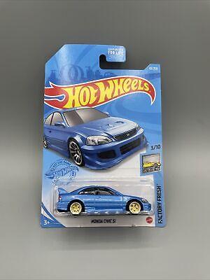 Custom Hot Wheels 1999 Honda Civic Si w/LODC Wheels ⚡️