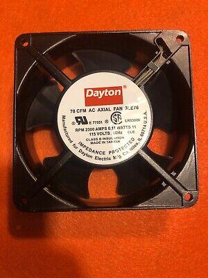 Dayton 3le76 Ac Axial Fan
