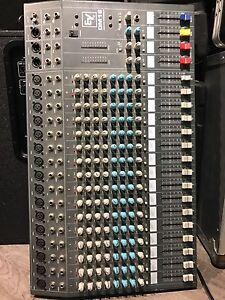 16 channel EV mixing board