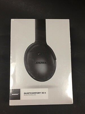 Bose QC 35 II - Noise Cancelling Wireless Headphone - 789564-0010 Black - New