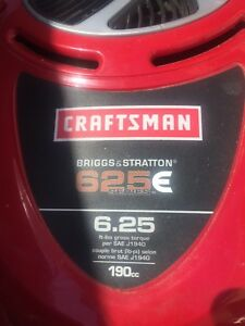 Craftsman lawnmower no wheels