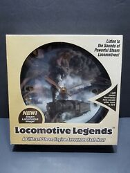 8 Mark Feldstein Locomotive Legends Steam Engine Train Sound Wall Clock