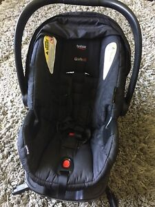 Britax B-Safe with car adapter.