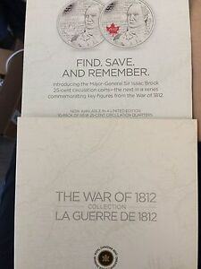 The war of 1812 coin collection