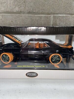 m2 machines chase 1969 Camaro Foose Vintage Diecast Toys 1/24 Scale