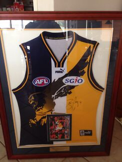 BEN COUSINS WEST COAST EAGLES SIGNED JUMPER  Atwell Cockburn Area Preview