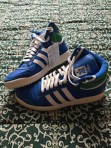 Brand new Adidas TopTen retro-style basketball shoes.