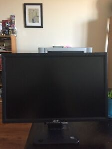 19 inch acer computer monitor