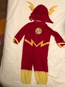 Costume Flash taille toddler (~4 ans)