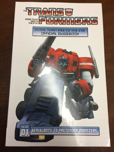 (used) Transformers More Than Meets the Eye Official Guidebook Paperback VOL1
