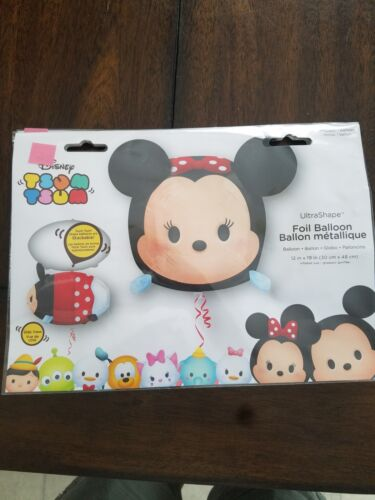 "Anagram Disney/Pixar Tsum Tsum Foil Balloon 12""x19"" NIP/Seal"