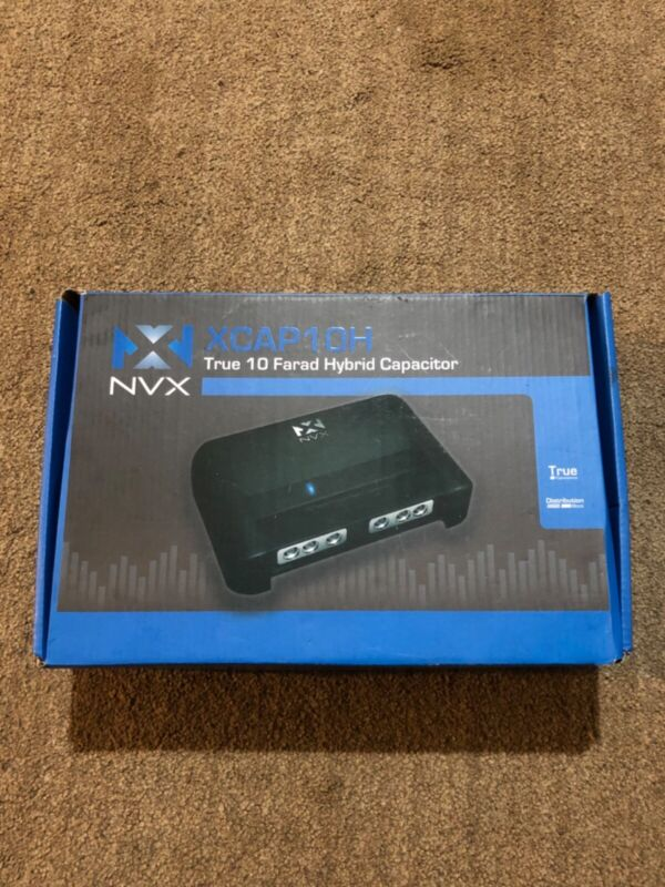 NVX XCAP10H Capacitor 10 Farad