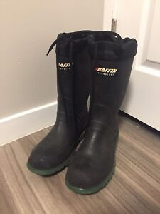 Baffin Technology steel toe insulated rubber boots size 7 MEN