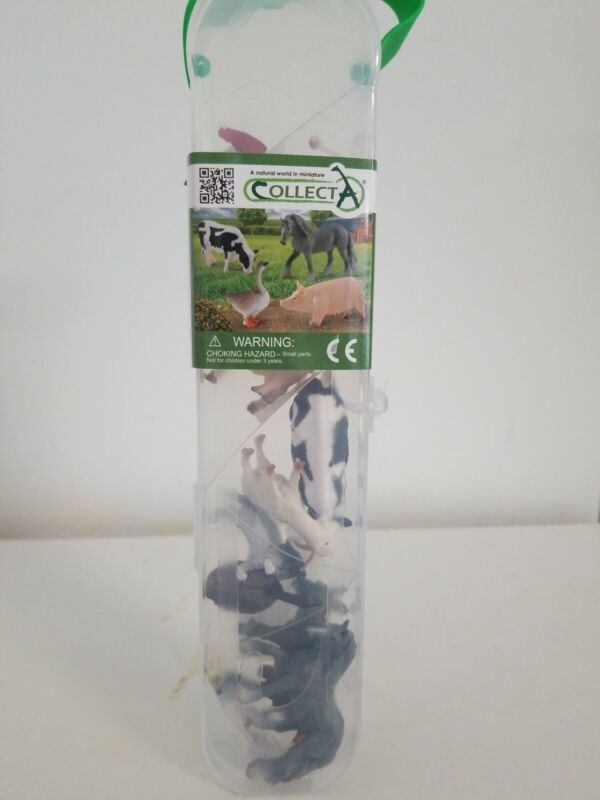 "Collect A ""A Natural World I. Miniatures Farm Animals. Free Shipping."