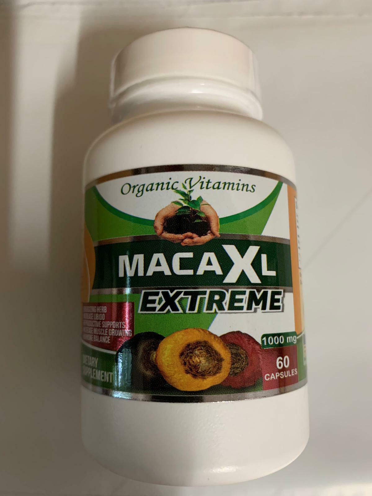 Organic maca root black red yellow 120 capsules peruvian maca extreme extract  6