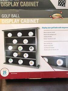 Golf Ball Display Cabinet