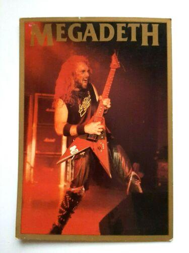 Megadeth Vintage 1990 Postcard