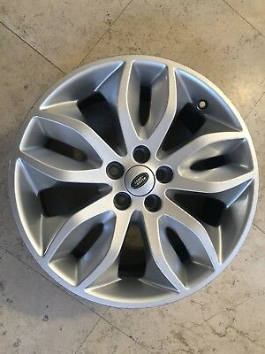 WHEEL 2011-2014 LAND ROVER LR2 18X8 ALLOY 10 SPOKE 5 DOUBLE SPOKE #1576913