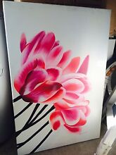 Flower painting Panania Bankstown Area Preview
