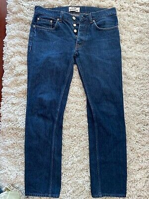 Acne Studios Blue Jeans Used Black Jeans size 32/32