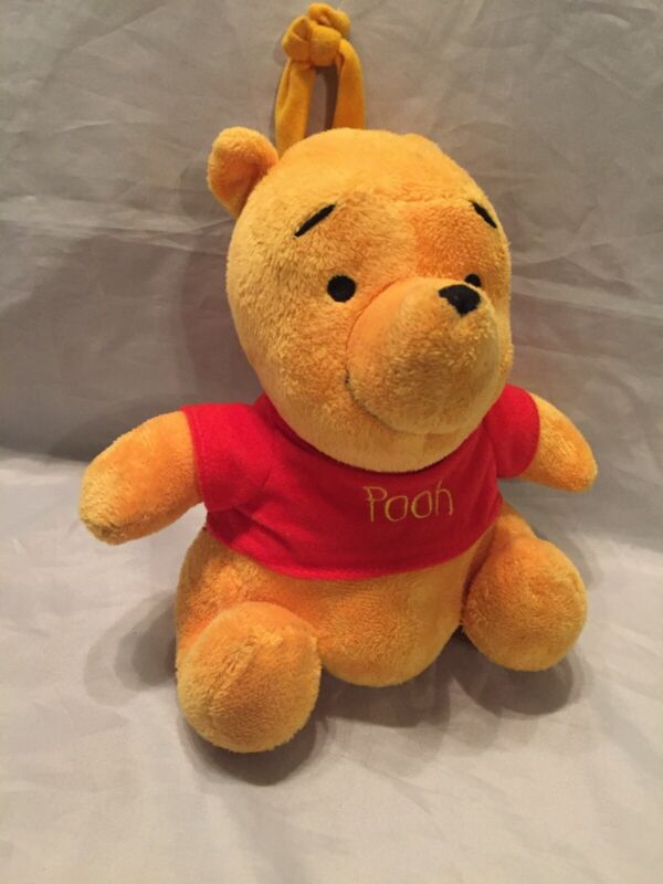 Disney Winnie The Pooh Bear Plush Animal Musical Infant Baby Crib Toy