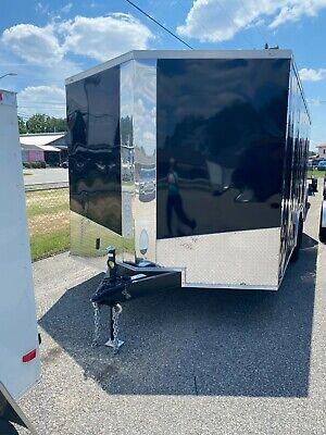 2021 8.5x16 TA Ft Enclosed Cargo Trailer