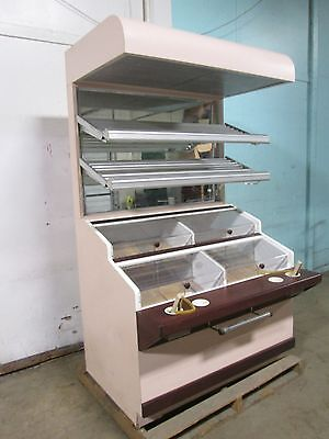 Hd Commercial Lighted Self-serve Bakerydonutsbagel Display Merchandiser Case