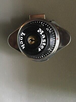 Master Lock No. 1630 Built-in Combination Locker Locks Black Plastic Dial