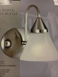 Indoor Wall Sconce Light Fixture **BRAND NEW**