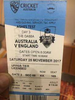 Ashes Test Ticket - Day 3(Platinum Seat)