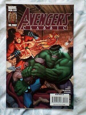 Avengers Classic 3 (2007) Hulk vs Thor, Iron Man. Kirby art ()